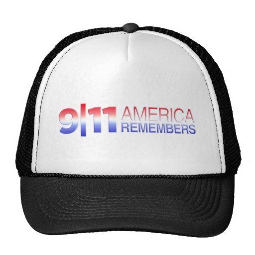 9/11 America Remembers Trucker Hat