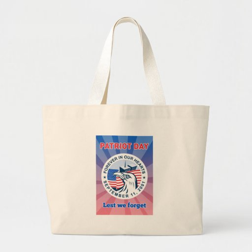 9-11 American Eagle Flag Twin Tower Bags