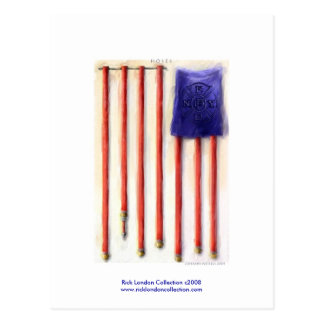 9/11 American Flag Firefighter Tribute Postcards