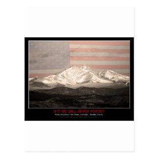 9-11 American Twin Peaks Tribute Post Card