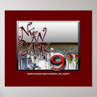 9-11 Anniversary New York Poster