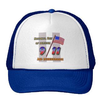 9 11  Cap / Rememberance/service Trucker Hat