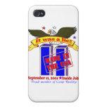 9/11 caso de Iphone de la conspiración iPhone 4 Carcasa