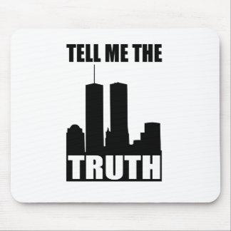 9/11 cojín de ratón de la verdad alfombrilla de ratones
