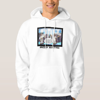 9/11 Commemorative Cartoon Greedy Martyr Hoodie