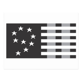 9-11 Commemorative Logo Black and White Post Cards