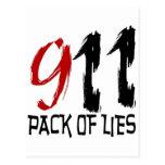 9/11 Conspiracy Postcards