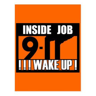 9-11 el TRABAJO INTERIOR DESPIERTA - 911 la verdad Postal