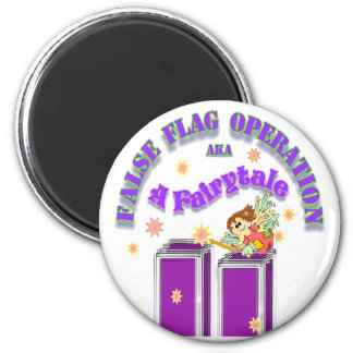 9/11 Fairytale 2 Inch Round Magnet
