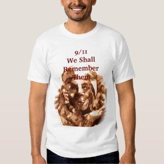 9/11 firemen T-Shirt