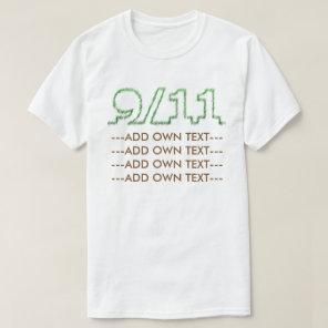 9/11 green T-Shirt