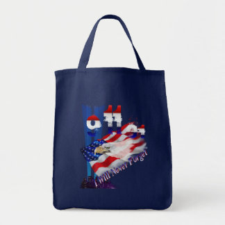 9-11 I Will Not Forget  Mugs Tote Bag