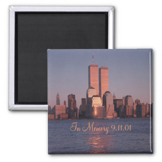 9 11 imán conmemorativo