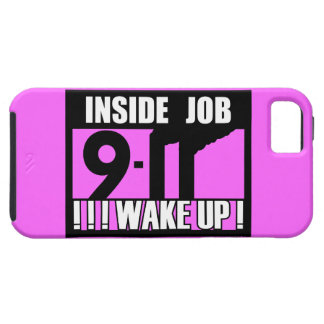 9-11 INSIDE JOB WAKE UP - 911 truth, truther iPhone 5 Cover