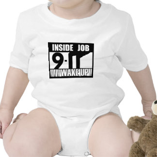 9-11 INSIDE JOB WAKE UP - 911 truth, truther Bodysuits