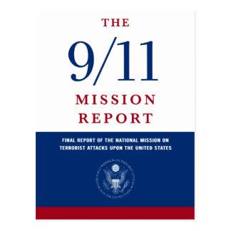 9/11 kommissionen postcard