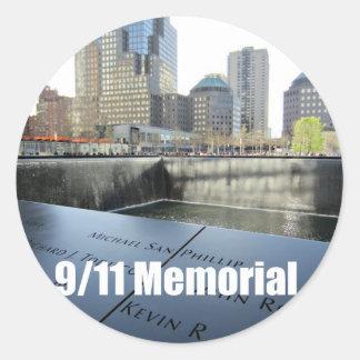 9/11 Memorial Classic Round Sticker