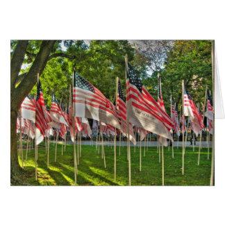 9/11 Memorial Greeting Cards