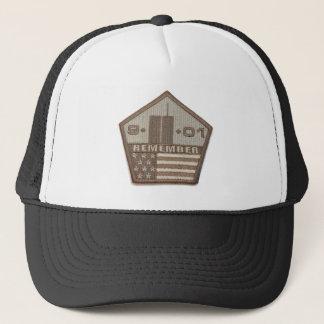 9/11 Memorial Pentagon Patch Trucker Hat