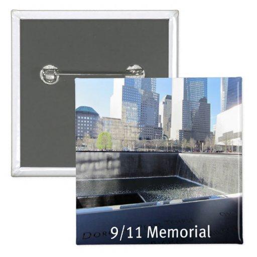 9/11 Memorial Pinback Buttons