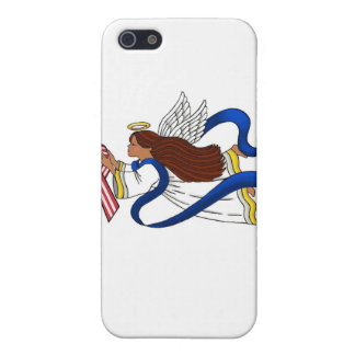 9/11 Memorial Ribbon, Angel of Color iPhone SE/5/5s Cover