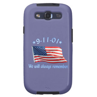 9-11 Memorial We Will Always Remember Samsung Galaxy S3 Cover