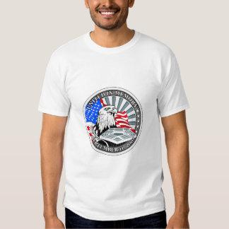 9/11 monumento de Pentágono Poleras