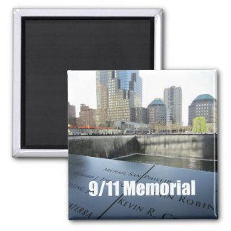 9/11 monumento imán para frigorifico