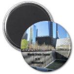 9-11 monumento imanes de nevera