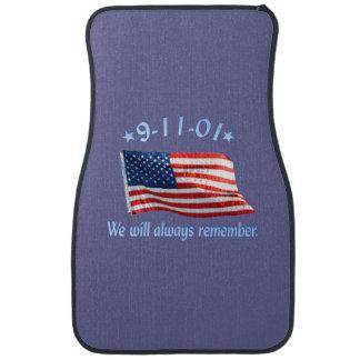 9-11 monumento que recordaremos siempre alfombrilla de auto