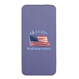 9-11 monumento que recordaremos siempre funda para iPhone 5