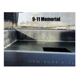 9-11 monumento postales