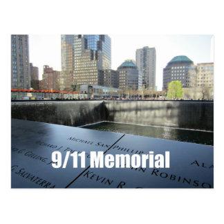 9/11 monumento tarjetas postales