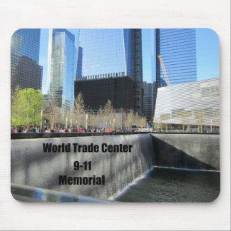9/11 monumento, World Trade Center, New York City Mouse Pad
