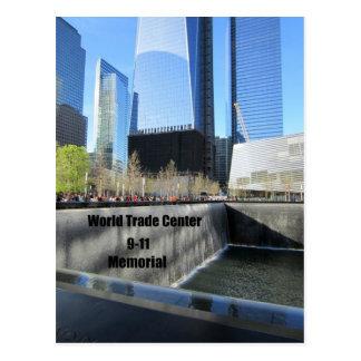 9/11 monumento, World Trade Center, New York City Postales