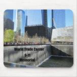 9/11 monumento, World Trade Center, New York City Alfombrilla De Ratón