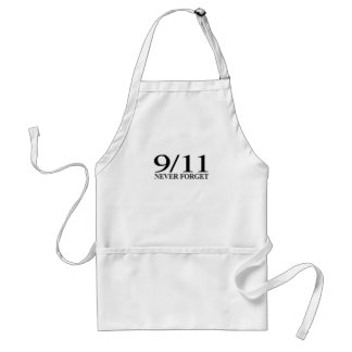 9/11 Never Forget Adult Apron