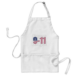 9-11 Never Forget Adult Apron