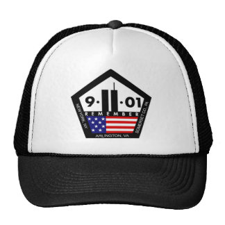 9 11 Never Forget Always Remember Mesh Hats