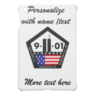 9 11 Never Forget, Always Remember Personalize iPad Mini Case