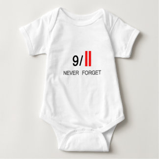 9/11 Never Forget Baby Bodysuit