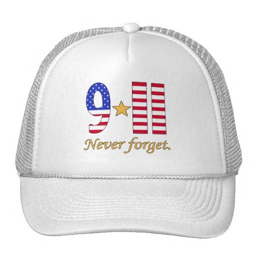 9-11 Never Forget Products Hats