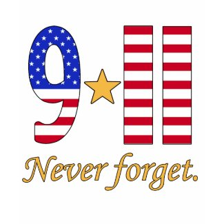 9-11 Never Forget Products shirt