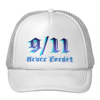 9-11 Never Forget Trucker Hat