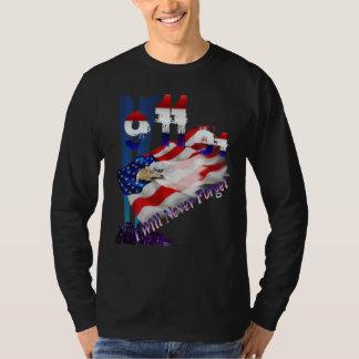 9-11 no olvidaré el camisetas remera