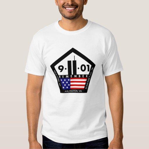 9 11 nunca olvidan, recuerdan siempre remeras