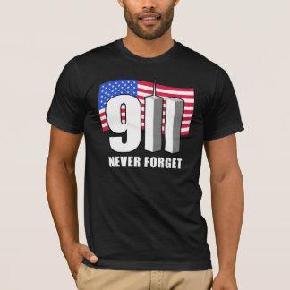 9-11 nunca olvide playera