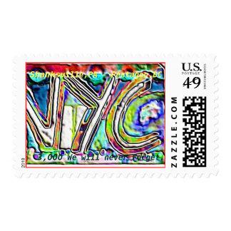 9-11,NYC,shanksville, pentagon Postage Stamp