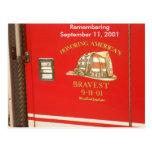 9-11 postal de los bomberos