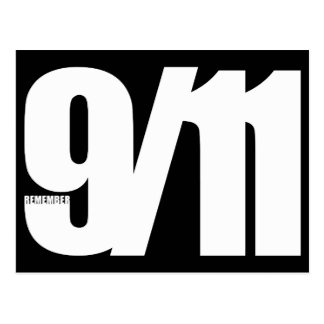 9/11 POSTCARD